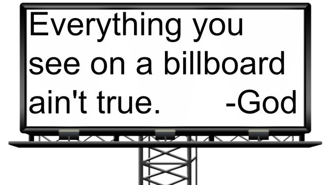 Anti Gay Billboard Has Ironic Twist