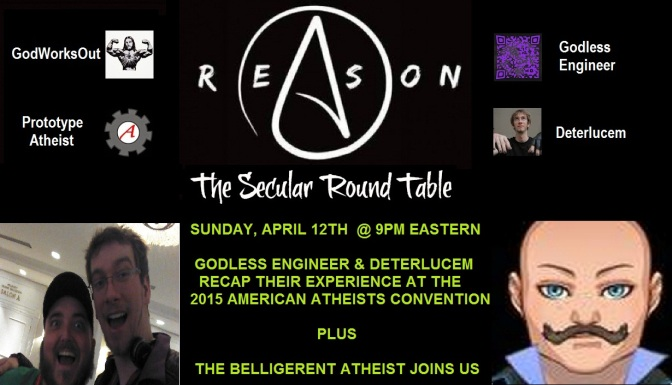 This Sunday: AACon 2015 Recap and The Belligerent Atheist